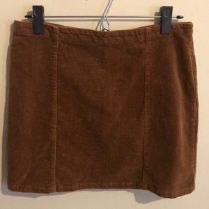 Darling Corduroy Skirt